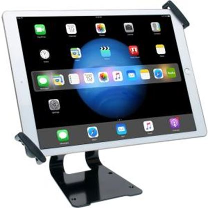 "Picture of CTA Digital Adjustable Anti-Theft Security Grip and Stand for Large Tablets 9.7"" - 14"""