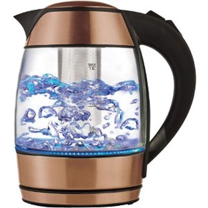 Picture of Brentwood 1.8 Liter Electric Glass Kettle with Tea Infuser (KT-1960RG)