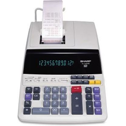 Picture of Sharp EL-1197PIII 12 Digit Commercial Printing Calculator