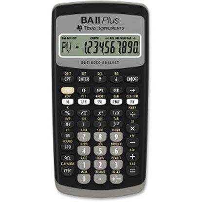 Picture of Texas Instruments BA II Plus Financial Calculator