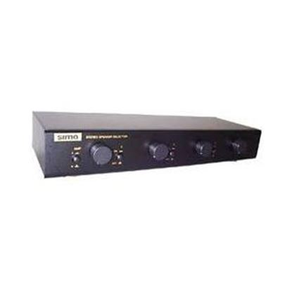 Picture of Sima 4 Pairs Multi Zone Speaker Selector with Volume Controls