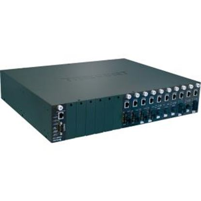 Picture of TRENDnet TFC-1600 16-Bay Fiber Converter Chassis System