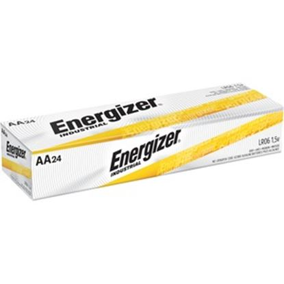 Picture of Energizer Industrial Alkaline AA Batteries, 24 pack