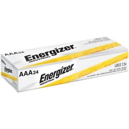 Picture of Energizer Industrial Alkaline AAA Batteries, 24 pack