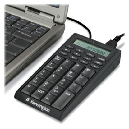 Picture of Kensington 72274 Notebook Keypad/Calculator with USB Hub - PC & MAC Compatible