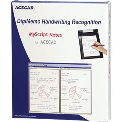 Picture of Solidtek ACECAD DigiMemo Handwriting Recognition software DM-OCR