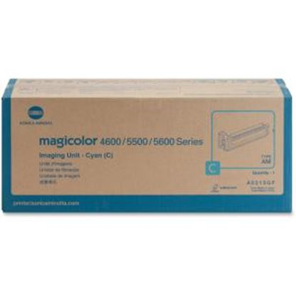 Picture of Konica Minolta 120V Cyan Imaging Unit For Magicolor 5550 and 5570 Printers