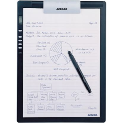 "Picture of Solidtek Acecad DigiMemo L2 8.5"" x 11"" digital notepad for PC & Mac DM-L2"