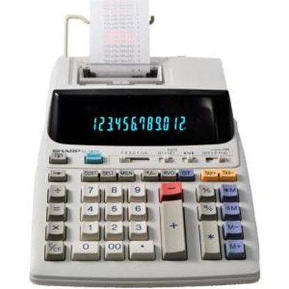 Picture of Sharp EL-1801V 12 Digit Printing Calculator