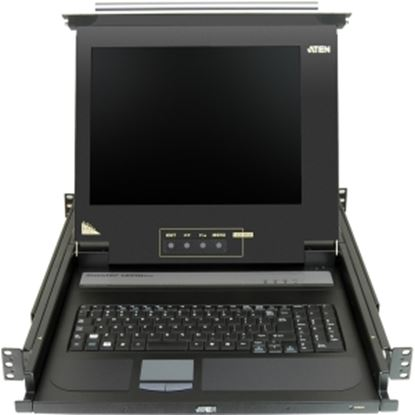 "Picture of Aten 17"" Single-Rail LCD Integrated Console"