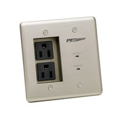 Picture of Panamax MAX MIW-POWER-PRO-PFP In-Wall 2-Outlets Surge Suppressor