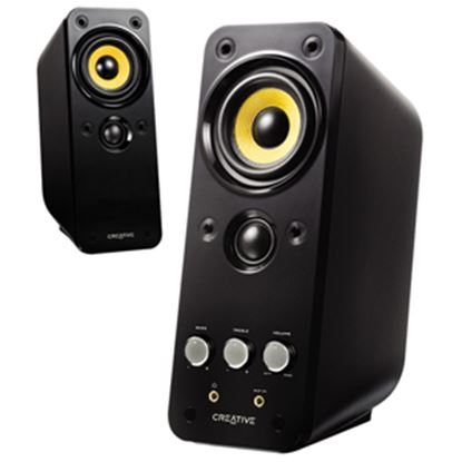 Picture of Creative GigaWorks II Series T20 2.0 Speaker System - 28 W RMS - Glossy Black