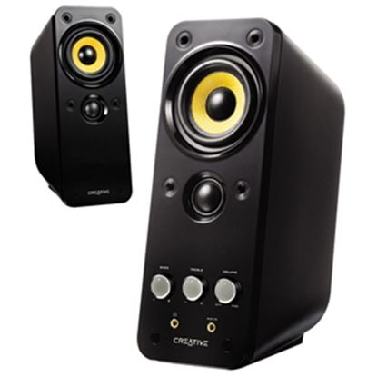 Picture of Creative GigaWorks T20 2.0 Speaker System - 28 W RMS - Glossy Black