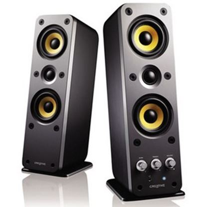 Picture of Creative GigaWorks II Series T40 2.0 Speaker System - 32 W RMS - Glossy Black
