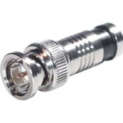 Picture of C2G RG6 Compression BNC Connector - 20pk