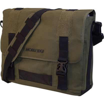 "Picture of Mobile Edge 17.3"" Eco-Friendly Canvas Messenger Bag"