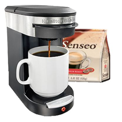 Picture of Hamilton Beach Personal Cup One Cup Pod Brewer