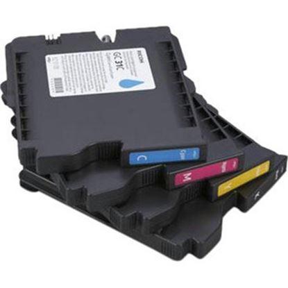 Picture of Ricoh 405704 Ink Cartridge - Yellow