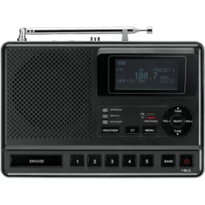 Picture of Sangean CL-100 Portable Clock Radio - Stereo