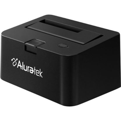 Picture of Aluratek AHDDU200F Drive Dock Serial ATA/300 - USB 3.0 Host Interface External