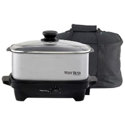 Picture of West Bend 84915 - 5 Qt. Oblong Slow Cooker with Tote