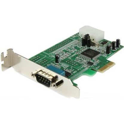 Picture of StarTech.com 1 Port Low Profile PCI Express Serial Card - 16550