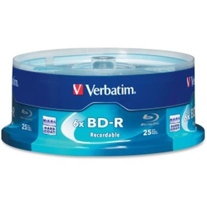 Picture of BD-R 25GB 16X with Branded Surface - 25pk Spindle