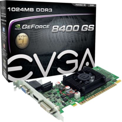 Picture of EVGA 01G-P3-1302-LR GeForce 8400 GS Graphic Card - 520 MHz Core - 1 GB DDR3 SDRAM