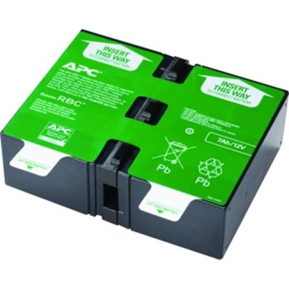 Picture of APC by Schneider Electric APCRBC123 UPS Replacement Battery Cartridge # 123