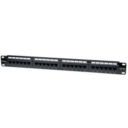 Picture of Intellinet Network Solutions 24-Port Rackmount Cat5e UTP 110/Krone Patch Panel, 1U