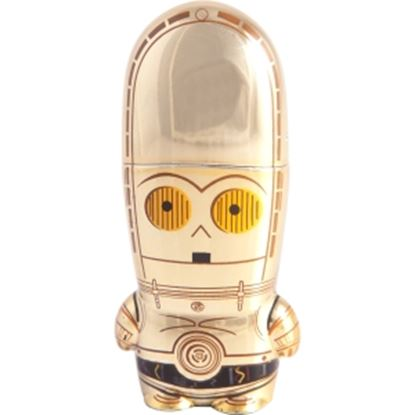 Picture of Mimoco 16GB MIMOBOT Star Wars USB 2.0 Flash Drive - C-3PO