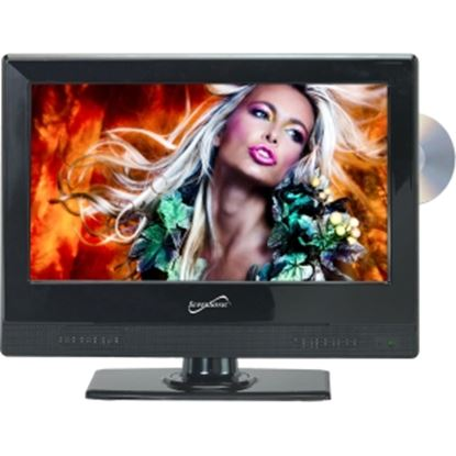 "Picture of Supersonic SC-1312 13.3"" TV/DVD Combo - HDTV - 16:9 - 1366 x 768 - 720p"