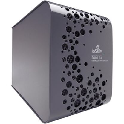 """Picture of ioSafe Solo G3 2 TB Hard Drive - 3.5"""" External - SATA - Gray"""