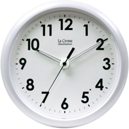 Picture of La Crosse Technology 403-310 10 inch Wall Clock with Glowing Hands