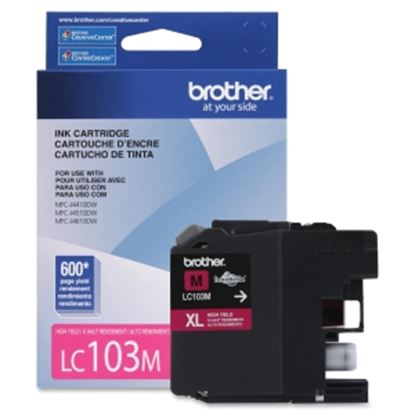 Picture of Brother Genuine Innobella LC103M High Yield Magenta Ink Cartridge
