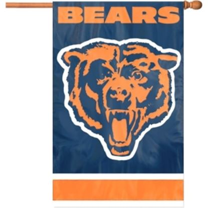 Picture of Party Animal Bears Applique Banner Flag