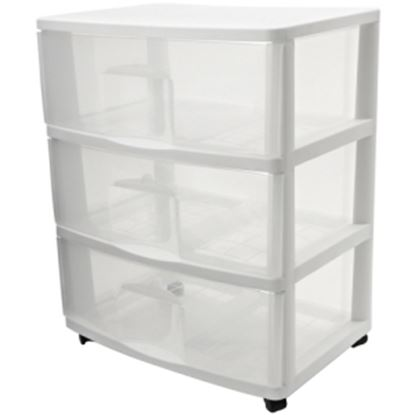Picture of Homz Large Three Drawer Cart