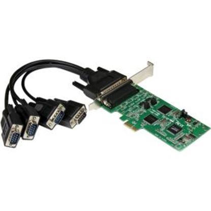 Picture of StarTech.com 4 Port PCI Express PCIe Serial Combo Card - 2 x RS232 2 x RS422 / RS485