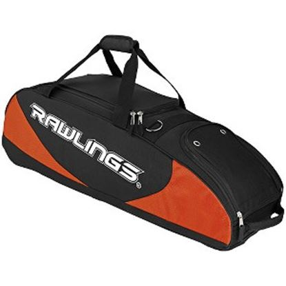 Picture of Rawlings Carrying Case Baseball Bat - Black, Orange