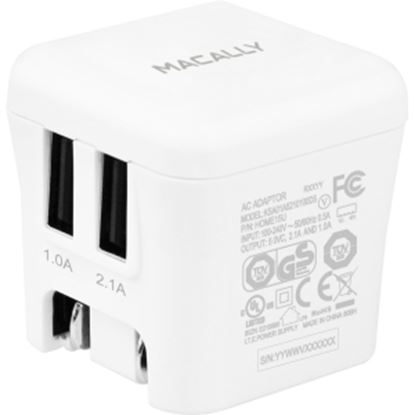 Picture of Macally 15W Two USB Port Wall Charger