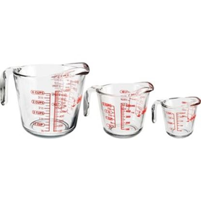 Picture of Anchor Hocking 3 pc. Open-Handle Measuring Cup Set