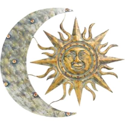 "Picture of Gardman Aztec Sun & Moon Wall Art - 26"" L X 24"" W"