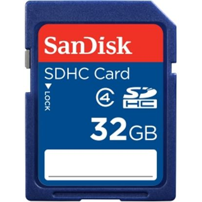Picture of SanDisk 32 GB SDHC