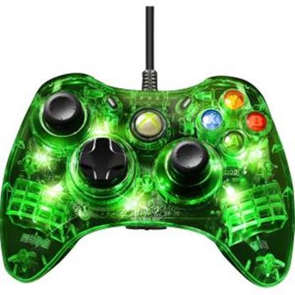 Picture of Afterglow Green Light Wired Controller for Xbox 360