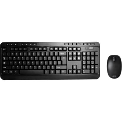 Picture of Adesso 2.4 GHz Wireless Desktop Keyboard & Mouse Combo