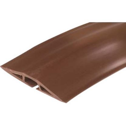 Picture of On-Q Corduct 15' Overfloor Cord Protector, Brown