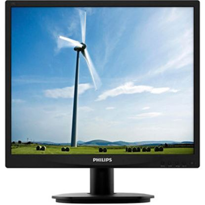 """Picture of Philips 19S4LSB5 19"""" SXGA LED LCD Monitor - 5:4 - Textured Black"""