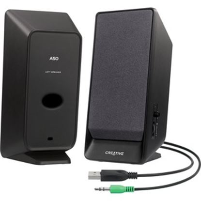 Picture of Creative A50 2.0 Speaker System - 800 mW RMS - Black