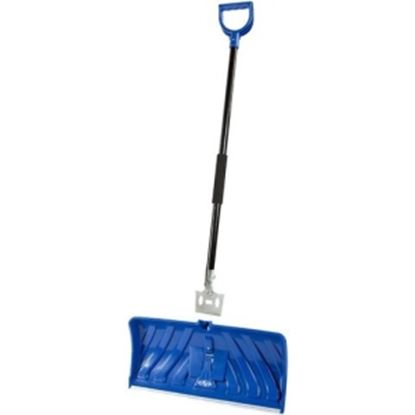 Picture of Snow Joe Edge 2-In-1 24-Inch Poly Blade Snow Pusher and Ice Chopper, Blue - SJEG24