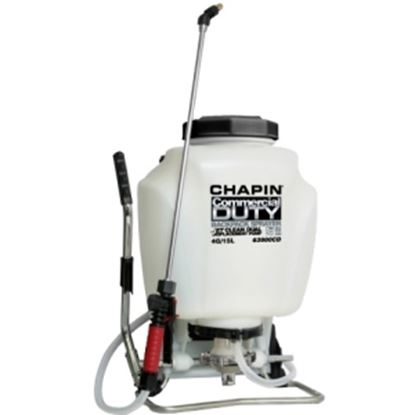 Picture of Chapin Commercial Duty Jet Clean Dual Displacement Pump 4 Gallon Backpack Sprayer